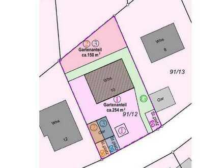 Mähringen (Ulm-Nähe) 3,5 Zi.-ETW mit großer Terrasse und eigenem Gartenanteil mit 250 m² Fläche