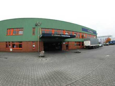 Hallen-/Produktionsflächen 7525m² teilbar in 3 Sektionen Neuss-Üdesheim !!!!