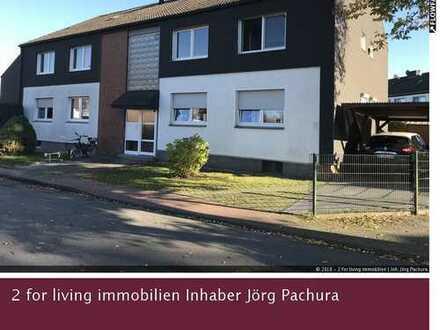 Schöne Eigentumswohnung mit moderner Ausstattung, eigenem Garten u. Carport in attraktiver Wohnlage!