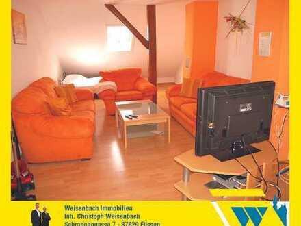 2-Zimmer-Wohnung mit neuwertigem Bad im Herzen der Füssener Altstadt