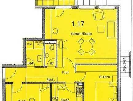 3 ZKB, 2 Dachterrassen, WP Am Brühl