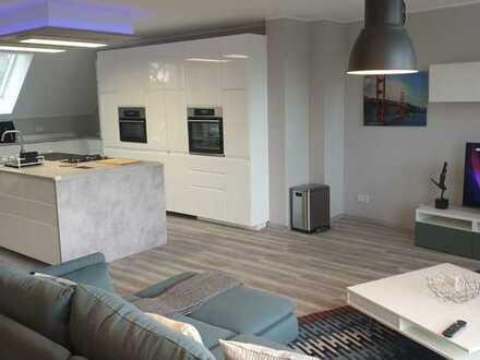 Erstbezug: Penthouse auf zwei Etagen mit 2 Terassen und eigenem Aufzug