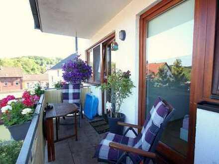 Charmante Familienwohnung mit Balkon