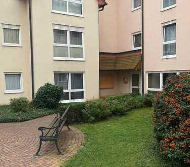 Schöne - 2 Zimmer Whg. Im EG mit Terrasse - Mitten in Bad Orb - in Senioren Anlage