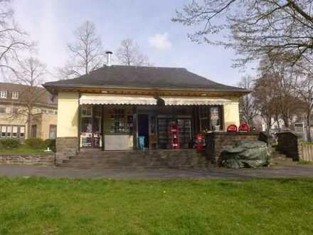 TOP LAUF- und SICHTLAGE! Ehemalige Wartehalle mit Bistro und Kiosk an der Station Godesberg