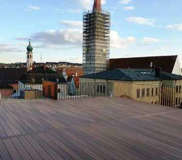 PAF-Zentrum! Dachterrassen-Whg. (70 m² Dachterr.) - Aufzug, FBH, elektr. Rollläd., Videosprechanl. -