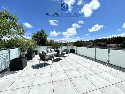 Provisionsfreie, Sonnenverwöhnte 2 Zimmer Penthousewohnung mit Dachterrasse