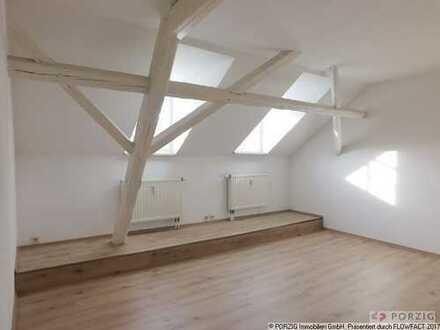 Frisch sanierte Single-Wohnung im Dachgeschoss