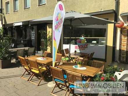 ++Eis und Kaffee- Ladengeschäft zentral gelegen im Ludwigsburger Stadtzentrum++