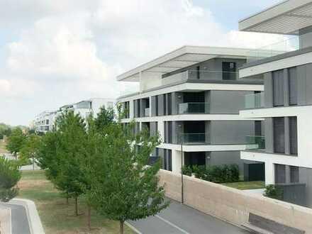 Helle 2-Zimmer-Wohnung mit schöner Terrasse und Blick ins Grüne