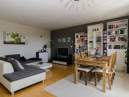Stilvolle, vollständig renovierte 3-Zimmer-Wohnung mit Balkon und Einbauküche in Mainz