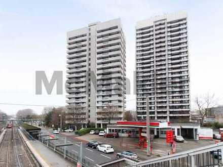 Kapitalanlage in der Domstadt: Vermietete 3-Zi.-Wohnung mit großem Balkon und Tiefgaragenstellplatz