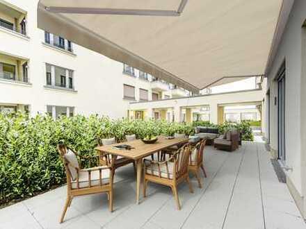 Exklusives Wohnen mit Terrasse im Herzen von Berlin