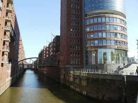 Provisionsfreie Bürofläche direkt am Fleet in der HafenCity