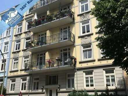 Sanierte 2-Zimmer-Eigentumswohnung in bester Lage von Hamburg-Eppendorf