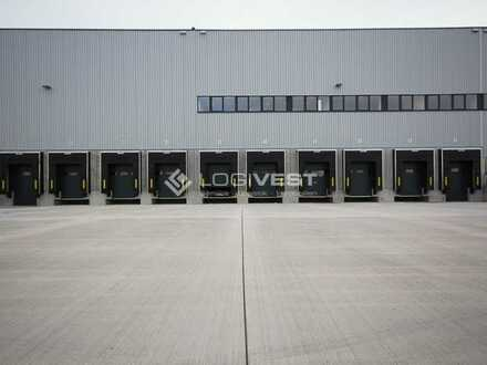 Projektierter Neubau einer Lager- und Logistikhalle
