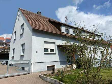 Charmantes 1-2-Familien-Doppelhaus mit Garage in ruhigem, gewachsenen Wohngebiet