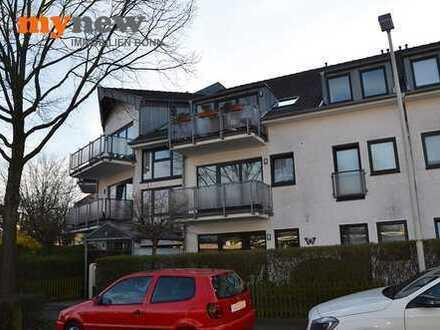 mynew: Schicke Singlewohnung mit neuem Parkettboden und Sonnenbalkon in Toplage Röttgen!