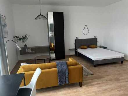 Erstbezug! Möbliertes 1-Zimmer-Apartment mit Terrasse