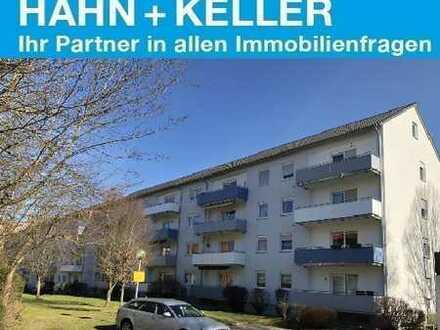 Interessante 3 Zimmer-Wohnung - herrlicher Sonnenbalkon !