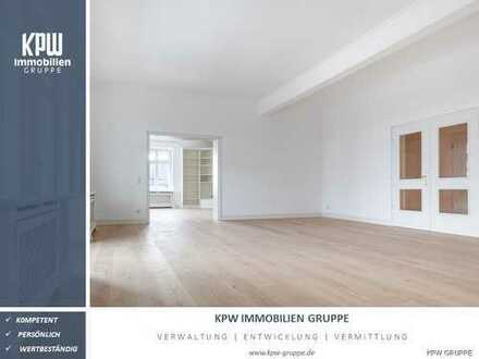 Exklusives Wohnen am Toelleturm: 5-Zi-Etagenwohnung in Fabrikantenvilla mit einzigartigem Freisitz