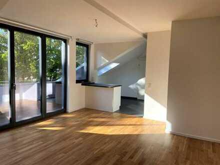BLICK INS GRÜN - 2 Zimmer mit Terrasse