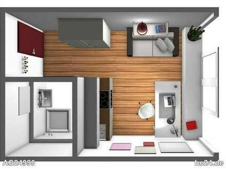 Nähe UNIKLINIK: neuwertige 1-Zimmer-Wohnung in guter Lage mit schöner Ausstattung