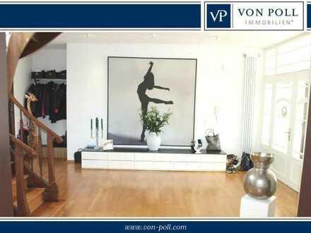 Außergewöhnliche Lifestyle Maisonnette in exklusiver Unternehmervilla - Top Lage Offenbach Westend