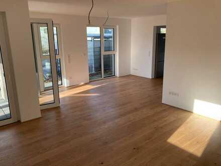 Hochwertige 3,5-Zimmer-Wohnung mit Balkon und EBK in Zornheim