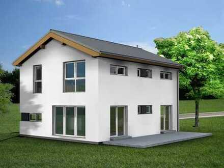 Modernes Einfamilienhaus in unverbaubarer, sonniger Lage mit Bergblick, Baubeginn kurzfristig