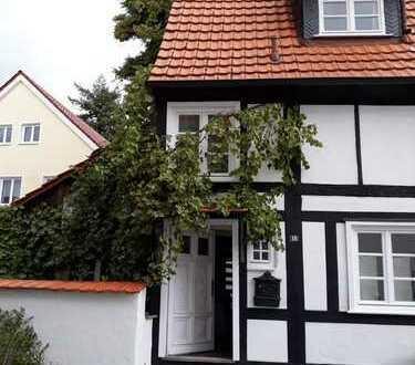 Kleines möbliertes Fachwerkhaus im Stadtkern Soest