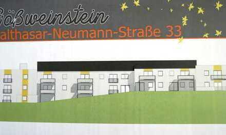 Wohnung 9: Großzügige 4-ZW mit 2 Terrassen und Gartenanteil in Gößweinstein