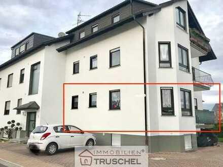 3 Zimmer EG-Wohnung mit Einbauküche, Balkon, KFZ-Stellplatz...