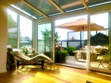 Exklusive 3-Zimmer-Wohnung mit Dachterrasse in Schwabing Luitpoldpark