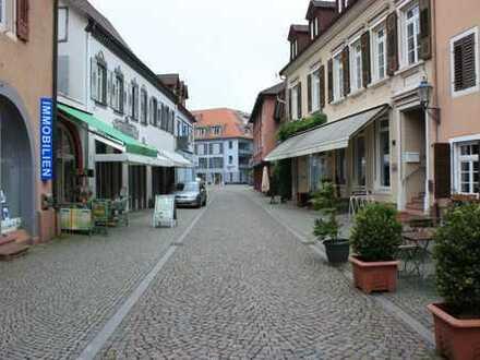 Ladengeschäft in der Fußgängerzone von Emmendingen