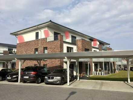 Erstbezug mit Einbauküche und 40 qm Balkon: 3-Zimmer-Penthouse-Wohnung in Fockbek