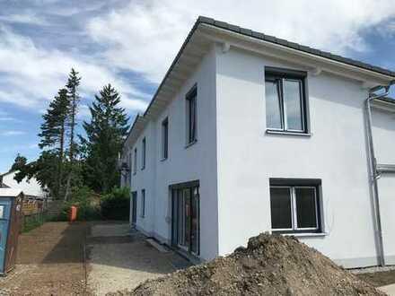 Kurz vor Fertigstellung: Exklusive Doppelhaushälfte in ruhiger Lage von Vaterstetten
