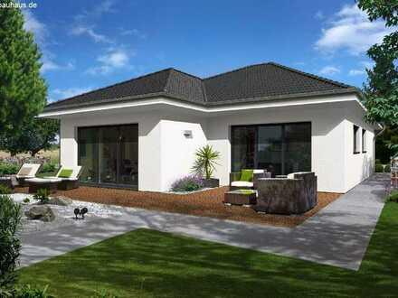 Bungalow inkl Bauplatz, Bodenplatte und Doppelgarage