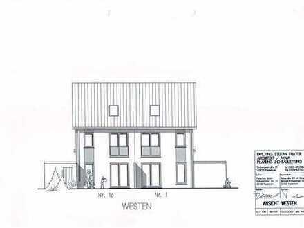 Doppelhaushälfte + Garten + Garage in zentraler, jedoch ruhiger Lage zu vermieten