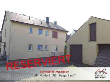 Platz für Generationen: 1-2-Familienhaus mit großer Hoffläche im Nürnberger Knoblauchsland