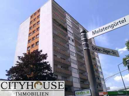 CITYHOUSE: Top 3 Zimmer-Wohnung mit Skyline-Blick auf den Dom, hochwertig modernisiert, vermietet