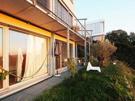 FR-Herdern: Traumhafte Wohnung mit großer Terrasse und herrlichem Blick
