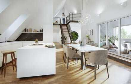 sonnige 3-Zimmerwohnung mit Dachterrasse