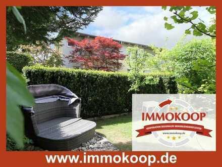 Wohlfühl-Reihenhaus mit schöner Terrasse und Gartenbereich