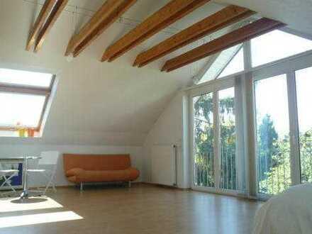 Sonniges Dachstudio 2 Zimmer in ruhiger Lage