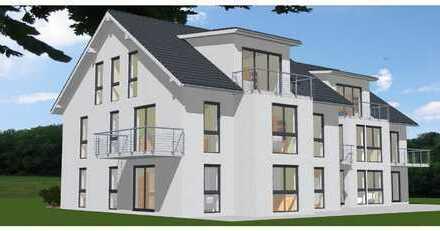 Attraktive 63 m² große Neubauwohnung in KfW 55 Effizienzhaus