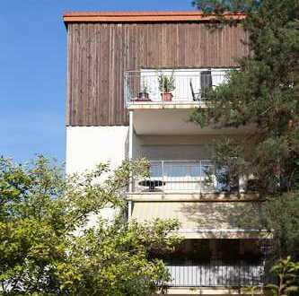 Provisionsfrei: 3-Zimmer-Wohnung mit Balkon und EBK
