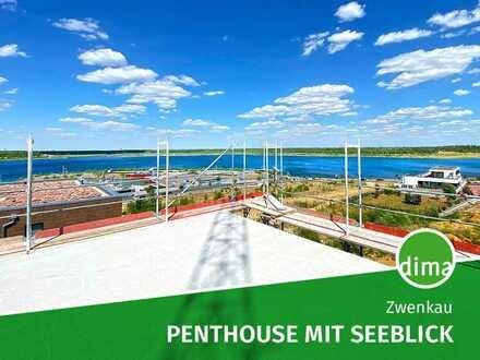 Seeblick-Penthouse in KfW-55-Neubau mit attraktivem Tilgungszuschuss durch neue Förder-Richtlinien.