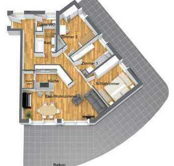 Ihr neues Zuhause - Exklusive, Neubau-4-Zimmer-Wohnung mit Traumaussicht, Penthousefeeling