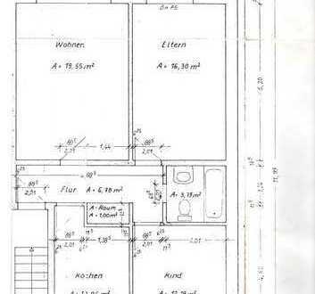 Modernisierte 3-Zimmer-Wohnung mit Balkon und Garage 2.OG